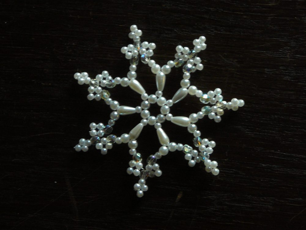 Schneeflocke 4