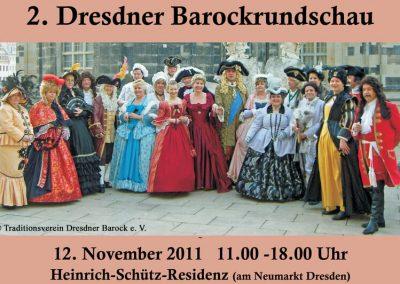 2011_Dresdner Barockrundschau - Messe für Barockinteressierte