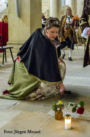 2012_350. Geburtstag Maria Aurora Gräfin von Königsmarck in Quedlinburg