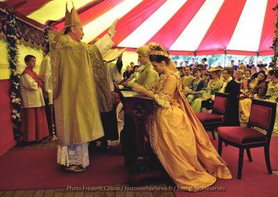 2012_Grafenhochzeit auf Schloss Ursel - Belgien - Einsegnung
